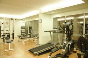 Sunbeam Hotel Pattaya: Fitness center